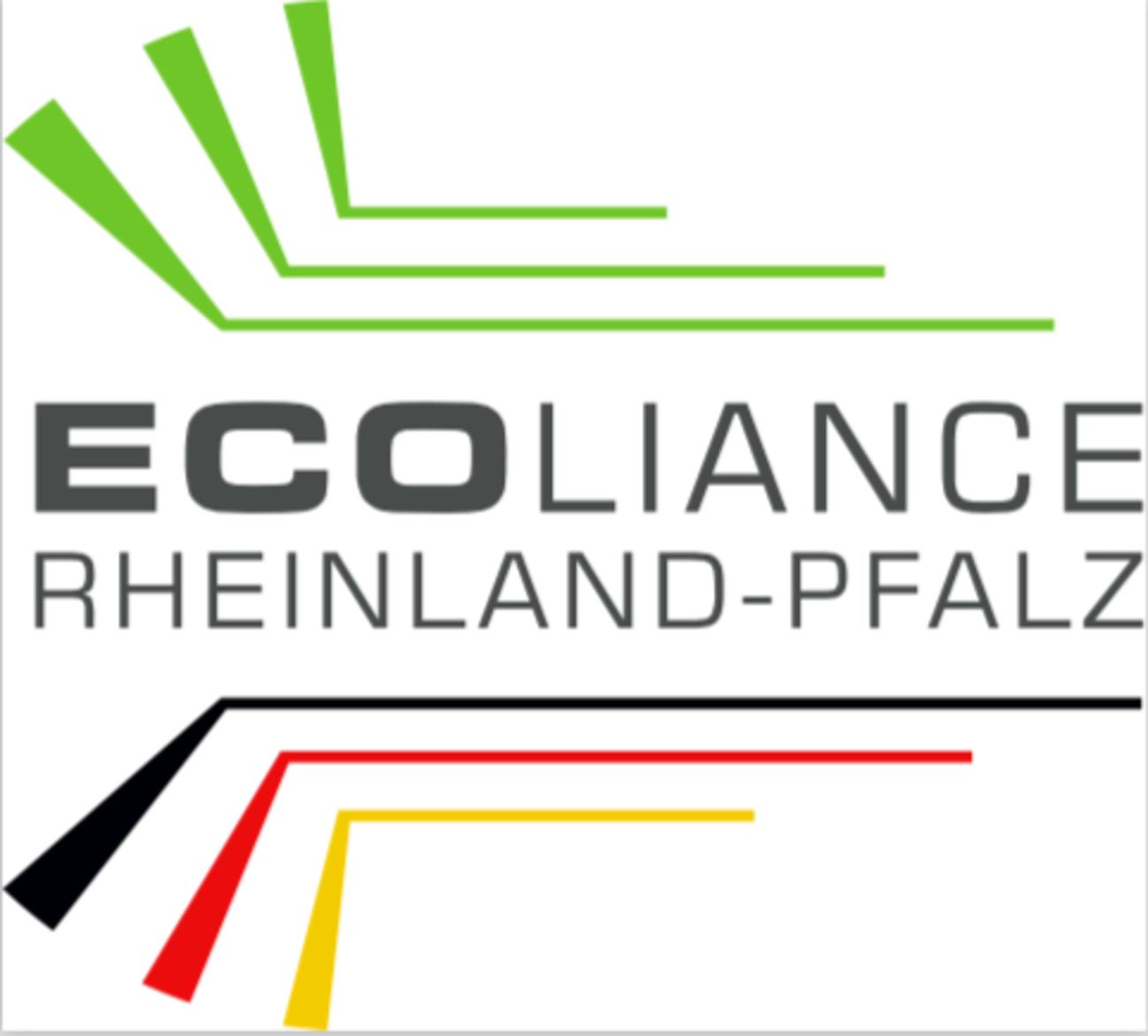 Schrift und Grafik Logo Ecoliance