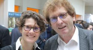 Portraitbild von Eveline Lemke und Michael Braungart